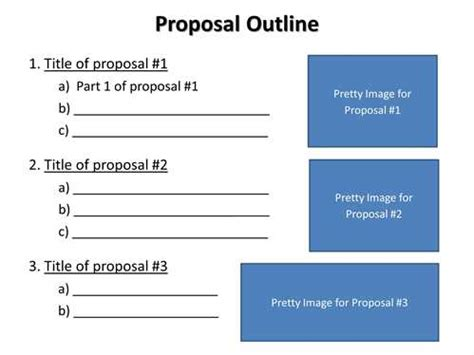 Research proposal project plan